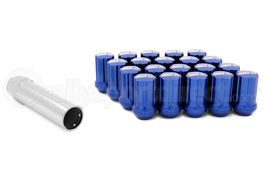 SSR GT Forged Aluminum Lug Nuts Blue 12x1.25 (Part Number:1SB2CC214B0)