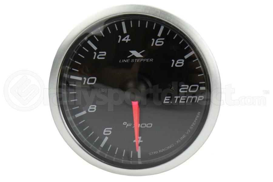 STRi X-Line V2 EGT Gauge Black Dial ( Part Number:STR XC5206A.2)