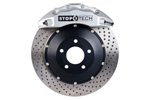 Stoptech ST-60 Big Brake Kit Front 355mm Silver Drilled Rotors ( Part Number:STP 83.838.6700.62)