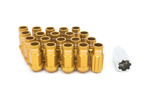 Work Wheels RS-R Lug Nuts M12x1.25 Orange Open End - Universal