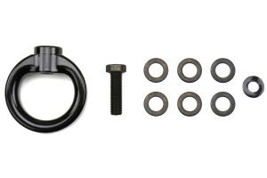 PERRIN Tow Hook Upgrade Kit Flat Black - Universal