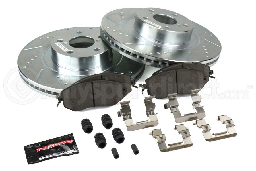 Power Stop Z23 Evolution Coated Brake Kit Front - Subaru Models (inc. 2011-2014 WRX / 2013+ BRZ)