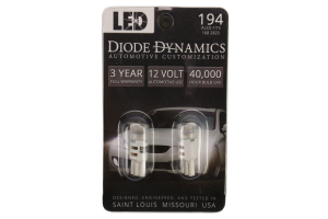 Diode Dynamics 194 HP3 Warm White Bulb Pair - Subaru Models (inc. 2015-2020 WRX / 2013-2019 BRZ)