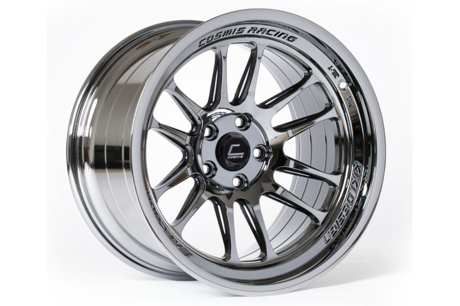 Cosmis Racing Wheels XT-206R 17x9 +5 5x114 Black Chrome (Part Number:XT206R-1790-5-5X114.3-BC)