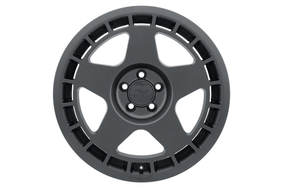 fifteen52 Turbomac 18x8.5 +30 5x100 Asphalt Black - Universal