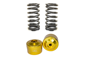 ISC Suspension Air Piston Cups Pair w/12K Springs - Universal