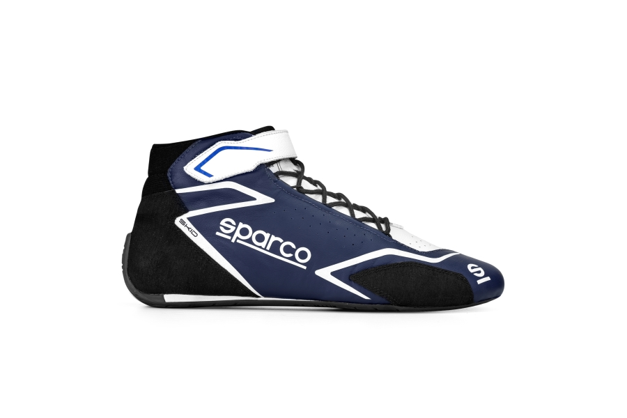 Sparco Skid Shoes Blue / White - Universal