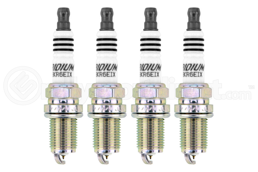 NGK Iridium Spark Plugs Stock Heat Range 6418 ( Part Number:NGK BKR6EIX-GRP)