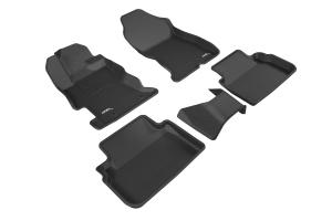 3D MAXpider KAGU Floor Liners - Subaru Crosstrek 2018+ / Impreza 2017+