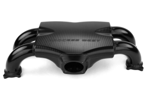 Process West Intake Manifold Track Version Black (Reverse Throttle Position) - Subaru STI 2004+