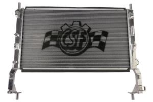 CSF Aluminum Racing Radiator - Ford Mustang EcoBoost 2015-2017
