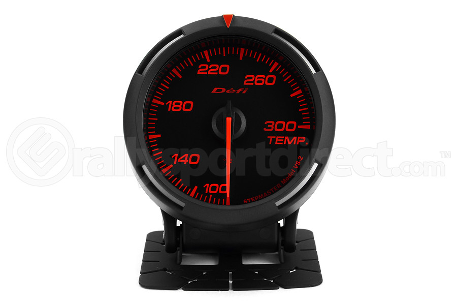 Defi Red Racer Temperature Gauge Imperial 60mm 100-300F (Part Number:DF11702)