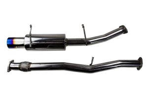 TurboXS Catback Exhaust System 4.5in Blued Tip - Subaru WRX 2002-2007 / 2004-2007 STI