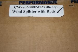 APR Carbon Fiber Front Wind Splitter (Part Number: )