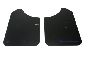 Rally Armor Classic Mud Flaps Blue Logo ( Part Number:RAL MF1-BL)