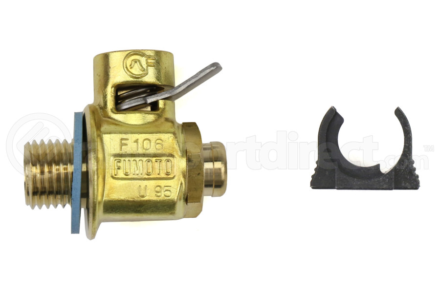 Fumoto M14-1.5 Oil Drain Valve w/ Short Nipple and Lever Clip - Ford Fiesta ST 2013-2016 / Evo 2008-2015 / Volkswagen GTI 2015+