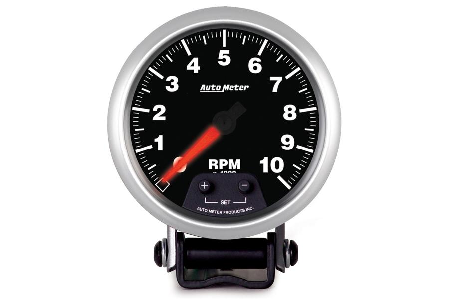 Autometer Elite Pedestal Tachometer Gauge 7 Color 3-3/4in - Universal
