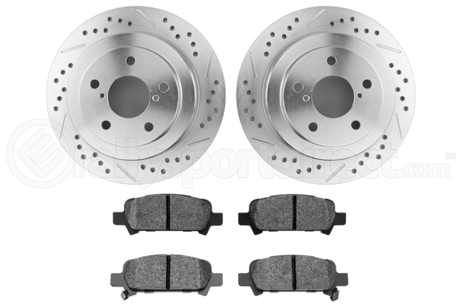 Hawk Performance Rotors w/ HPS 5.0 Pads Kit Rear ( Part Number:HAW4 HK5139.434B)