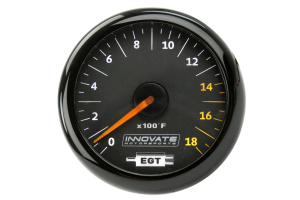Innovate Motorsports MTX Analog Exhaust Gas Temperature Gauge Kit ( Part Number:INN 3865)