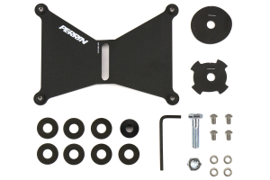 PERRIN Front License Plate Relocation Kit for FMIC (Part Number: )