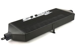 ETS Front Mount Intercooler Core 3in Black w/ White Logo - Subaru STI 2015 - 2020
