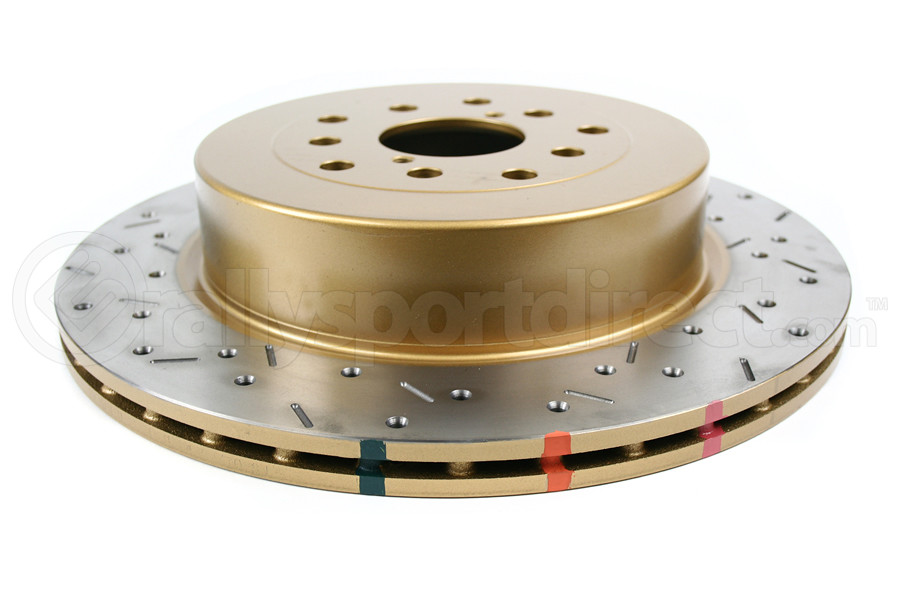 DBA 4000 Series Drilled/Slotted Rotor Single Rear (Part Number:4655XS-10)