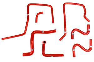 Mishimoto Silicone Ancillary Hose Kit Red - Subaru WRX 2006 - 2007 / STI 2004 - 2007