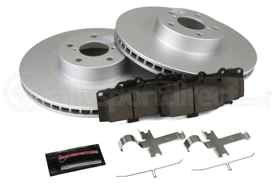 Power Stop Z17 Coated Brake Kit Front - Subaru WRX 2006-2007