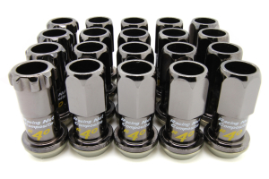 KICS R40 16+4 Piece Regular Color 12x1.25 Lug Nuts (Part Number: )