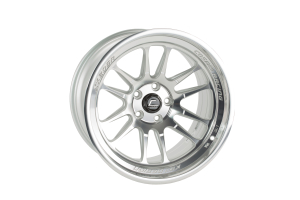 Cosmis Racing Wheels XT-206R 18x9.5 +10 5x114.3 Silver w/ Machined Face and Lip - Universal