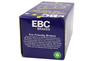EBC Brakes Greenstuff Front Brake Pads - Mazdaspeed3 2007-2013