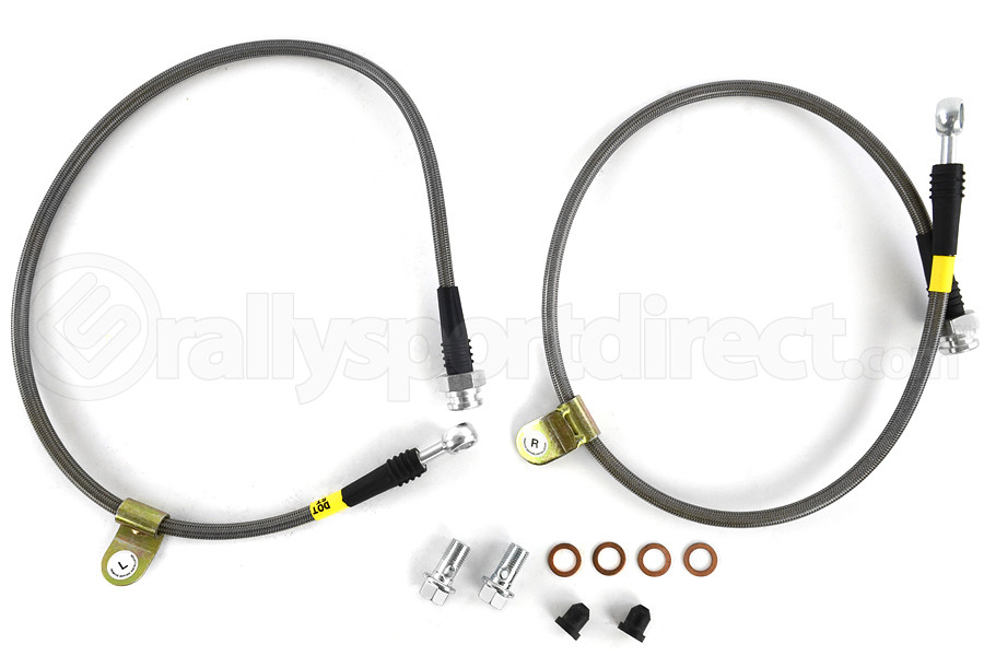 Stoptech Stainless Steel Brake Lines Front (Part Number:950.42004)
