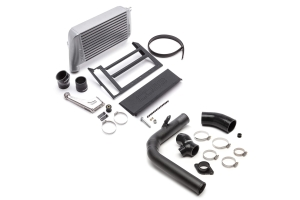 Cobb Tuning Top Mount Intercooler Kit w/ Charge Pipe Silver - Subaru WRX 2015-2018