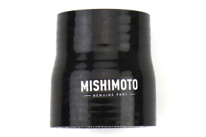 Mishimoto Silicone Transition Coupler 2.25in to 2.5in Black - Universal