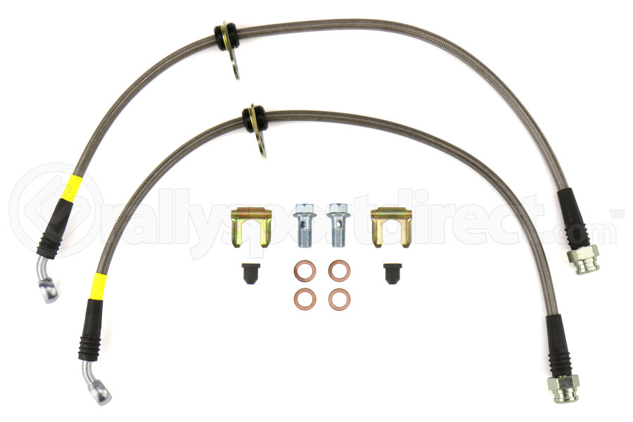 FactionFab Rear Stainless Steel Brake Lines (Part Number:1.10093.1)
