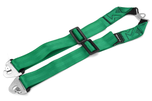 Takata RACE 6-Point Sub-Strap (T-Bar) Green (Part Number: )