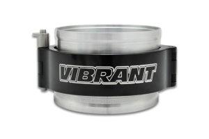 Vibrant Performance HD Clamp System Assembly Anodized Black - Universal