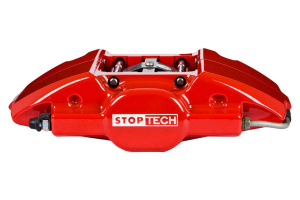 Stoptech ST-22 Big Brake Kit Rear 328mm Red Zinc Slotted Rotors ( Part Number:STP 83.622.0023.73)