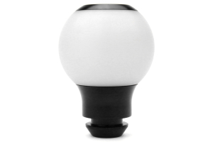 AutoStyled Subaru 5 Speed Shift Knob Black w/ White Delrin Center ( Part Number:ASA 1502010203)
