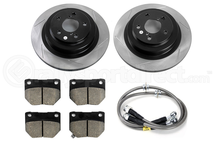Stoptech Sport Kit Slotted Rear ( Part Number:STP 977.47003R)