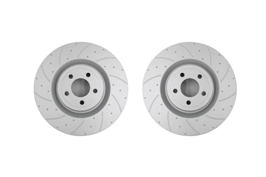 Pedders SportRyder Front Brakes Rotors Pair - Subaru WRX 2002 - 2014