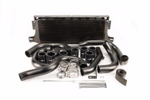 Process West Front Mount Intercooler Kit w/ Black Core - Subaru WRX / STI 2002 - 2007