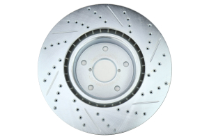 Stoptech C-Tek Sport Drilled and Slotted Rotor Single Front Right - Subaru STI 2005-2017