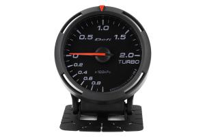 Defi White Racer Boost Gauge Metric 60mm 2 Bar (Part Number: )