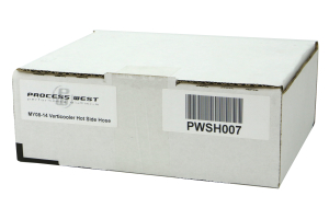 Process West Verticooler Hot Side Hose - Subaru WRX 2008-2014 / Legacy GT 2009-2010