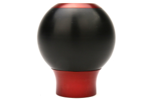 AutoStyled 6 Speed Shift Knob Red w/ Black Delrin Center (Part Number: )