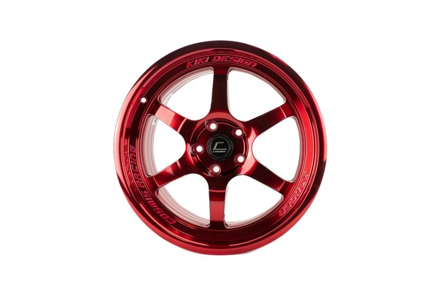 Cosmis Racing XT006R 18x11 +8 5x114.3 Hyper Red - Universal