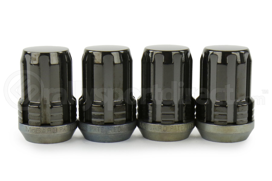 McGard Splinedrive Lug Nut 12X1.25 4pack (Part Number:65354BK)
