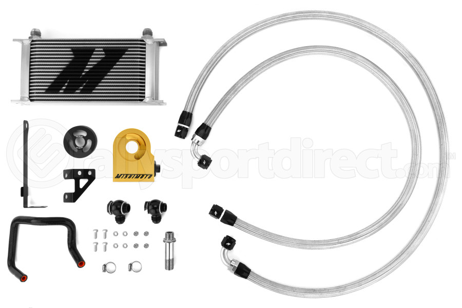 Mishimoto Thermostatic Oil Cooler Kit - Subaru WRX 2015+