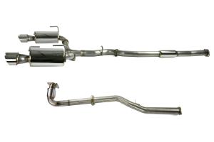 COBB Tuning 3in Turboback Exhaust Non-Resonated J-Pipe - Subaru WRX 2015+